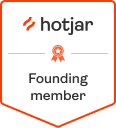 Hotjar Founding Member badge